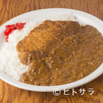 HANAMARU厨房 - 注文が入ってから揚げる、サクッサクの『ロースカツカレー』