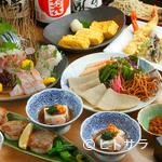 川せみ - 季節の献立コースは2〜3名様で。山海の幸と蕎麦料理をどうぞ。