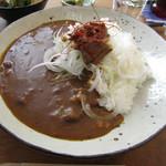 森のおうち - 料理写真:淡路島玉ねぎと手作りすじぼっかけのコトコトカレー