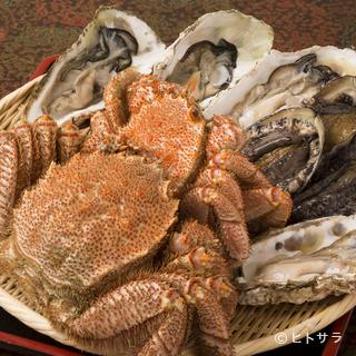 庶民的なお値段で食べられる、地元の海の幸の新鮮さに驚きます!