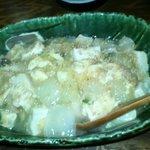がじゅまる - メニュー外「中華豆腐丼」