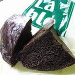 LaBle - ①ベルギーチョコココアブレッドの断面図。