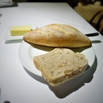 Cot - パン2種、  ポークリエット  バター