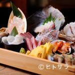 恵比寿魚金 - 怒涛の魚攻め。『お刺身盛スペシャル』で【魚金】の底力を知る