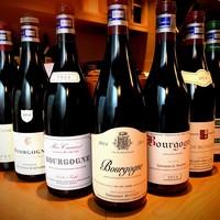 焼鳥 嘉とう - ブルゴーニュを中心としたワイン
