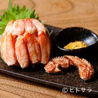 魚金 - 売り切れ必須の『毛蟹の甲羅詰め』