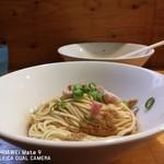 煮干中華ソバ イチカワ - 和え玉