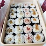 寿司処静 - 巻物4種