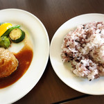 ブローテ - ご飯は五穀米