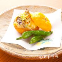 児玉 - 地元の特産品を風味高く仕上げた『牡蠣の柚子釜味噌風味焼』