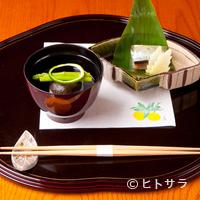 児玉 - 細やかな職人技が光る『鯖寿司』と『帆立貝のしんじょ』