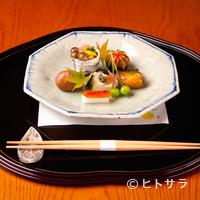 児玉 - 滋味に富む旬の食材を盛り込んだ料理に、季節の移ろいを滲ませる