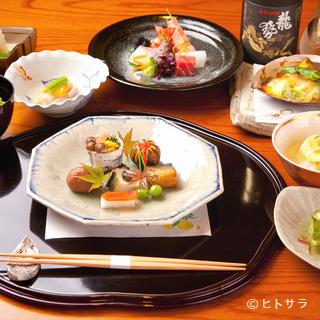 地産地消を念頭に、食材に恵まれる広島ならではの料理を堪能