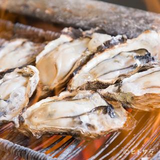採れたての牡蠣の旨みをいろいろな料理で味わえる