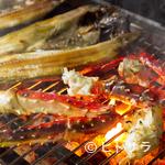 ぶたいち - 北海道の海の幸を丸ごと味わえる「海鮮炭火焼 各種」