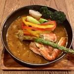スープカレーGARAKU - 記念カレー、1300円です。