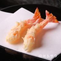 天ぷら岡本 - 車海老