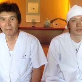 豪快×繊細二人の料理人が作り上げる極上料理