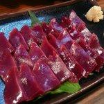 粋仙 - 砂ずり刺身