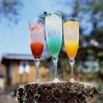 箱根ハイランドホテル ラウンジ - ドリンク写真:箱根ハイランドホテルオリジナル 「アロマティックソーダ」