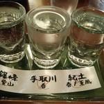 豐樂 - 利き酒セット680円はお得♪