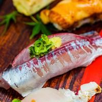 寿司大 - クセのない脂が楽しめる鹿児島産の『アジ』