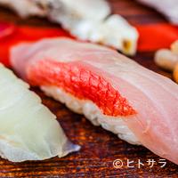 寿司大 - お決まりの大トロとキンメダイ以外には旬のネタがずらり