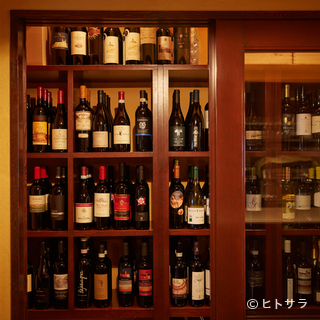 シチリアを中心としたワインが約80種