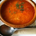 エル ポルテロ! - 玉子とベーコンのスープ
