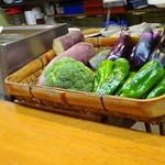 65421638 - かうんたーの野菜