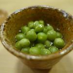 京味 - うすい豆