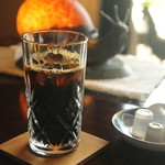 cafe&gallery 三日月や - 水出し式で抽出した、アイスコーヒー(数量限定)