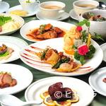 竹琳 - 華やかに楽しめる『桃花コース』。特別な日のひとときにおすすめ