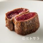 Amets - シンプルに肉の旨みを堪能する『エゾ鹿のソテー』