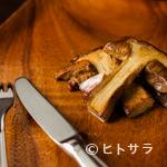 Amets - 香り高い秋の定番料理『ポルチーニのソテー』