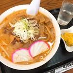 そば処 よしみや - 料理写真:鬼ごろしラーメン(850円)