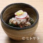 和味 大輔 - お通しのひとつ『京芋蟹あんかけ』