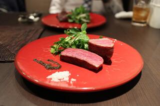 又三郎 本店 - 熟成肉の厚切りステーキ2種☆
