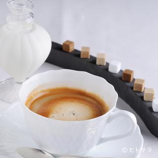 芳醇な香りに包まれる、食事の締めくくりの「コーヒー」