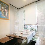 フレンチレストラン・プレジール - 特別な日のディナーには半個室の窓側がおすすめ