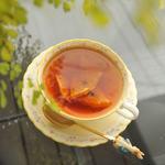 cafe&gallery 三日月や - オレンジクローブティー