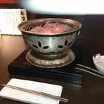 牛角 - 炭火の七輪