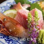 お料理 ほし - 旬の味わいをまるごといただける『お刺身盛り合わせ』