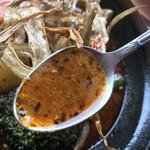 江別カリー エンヤ スパイス - スープはこんな感じ