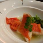 四季彩家 ろく - ◆金目鯛のアクアパッツア・・金目自体の旨みを感じる品。