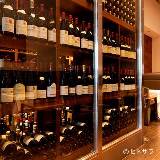 仏ワインの中でも、特にシャンパーニュとブルゴーニュが充実