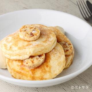 定番『リコッタパンケーキ』は盤石の人気
