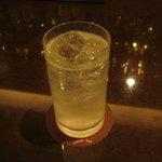 酒向Bar - 「ジンフィズ」です。