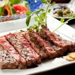 個室居酒屋 いし竹 - 特選牛ステーキの炙り 和風おろし風