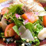 個室居酒屋 いし竹 - 海鮮サラダ
